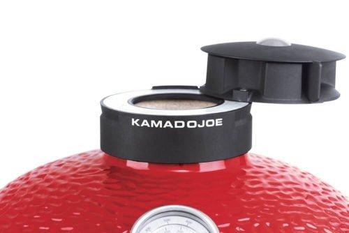 Kamado Joe Classic 2 Red Freistehend