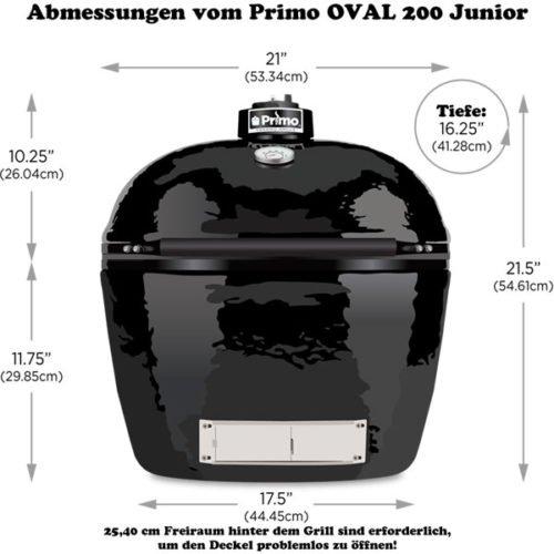 Primo Oval 200 Junior